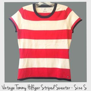 Tommy Hilfiger Short Sleeve Sweater Size Small